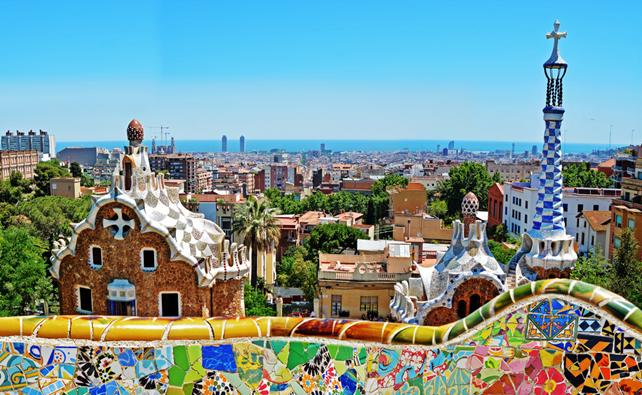 Das Werk von Antoni Gaudi